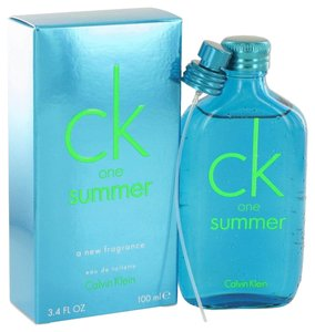 Calvin Klein CK ONE SUMMER by CALVIN KLEIN ~ Eau de Toilette Spray (2013) 3.4 oz
