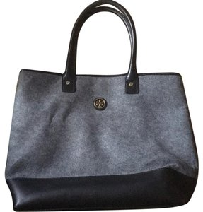 Tory Burch Tote in Grey And Black