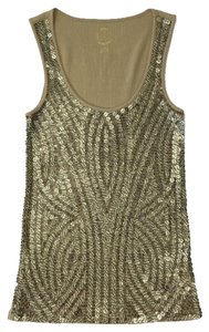 MICHAEL Michael Kors Summer Night Out Top GOLD/ SEQUIN