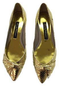 Beverly Feldman Gold Flats