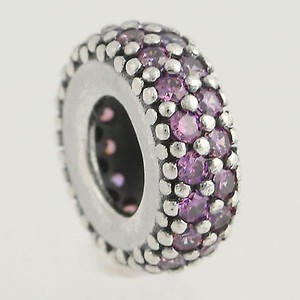 PANDORA Pandora Bead Charm - Sterling Silver 791359cfd Inspiration Within Purple Cz