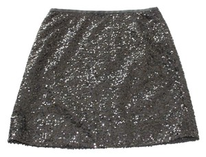 J.Crew Mini Skirt Black Sequin