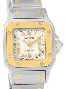 Cartier Cartier Santos Small Steel 18K Yellow Gold Automatic Watch W20057C4