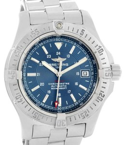 Breitling Breitling Colt Automatic Stainless Steel Blue Dial Mens Watch A17380