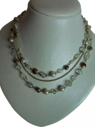 Preload https://item1.tradesy.com/images/lia-sophia-triple-chain-necklace-182890-0-0.jpg?width=440&height=440
