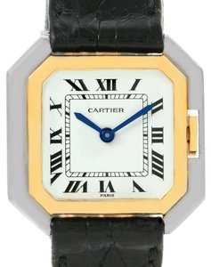 Cartier Cartier Tank Paris Ceintire 18K White and Yellow Gold Ladies Watch