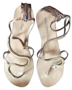 Michael Antonio Metallic Bronze Sandals