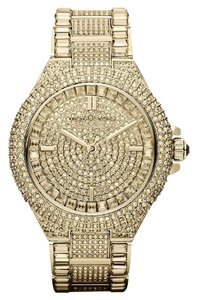 Michael Kors Swarovski Crystal encrusted gold Watch