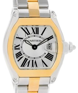 Cartier Cartier Roadster Ladies Steel Yellow Gold Quartz Watch W62026Y4