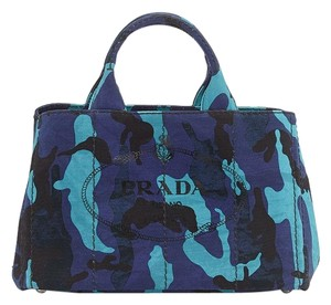 Prada Tote in Royal Blue
