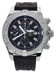 Breitling Breitling A13370 Avenger With Customized Diamond Bezel