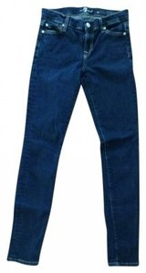 7 For All Mankind Seven Skinny Jeans-Dark Rinse