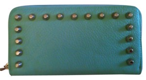 Street Level Street Level MINT Studded Zip around Wallet BNWT