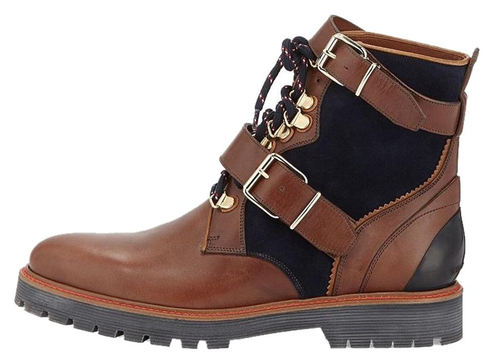 Burberry Women's Blue/Brown Utterback Women's Burberry M Euro 39.5 Boots/Booties dfa5e1