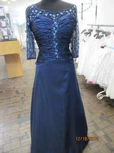 Rina DiMontella Navy 1208 (mom-1) Dress
