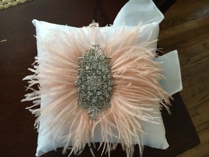 Here Comes The Bride And Ring Pillow