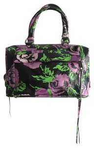 Rebecca Minkoff Patterned Satchel in Multi