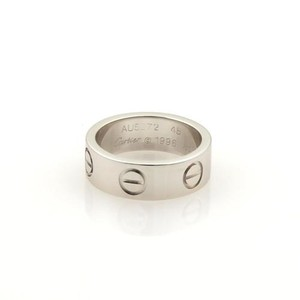 Cartier Cartier Love 18k White Gold 5.5mm Band Ring