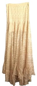 Free People Maxi Skirt Cream