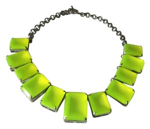 Ann Taylor Neon Collar Necklace