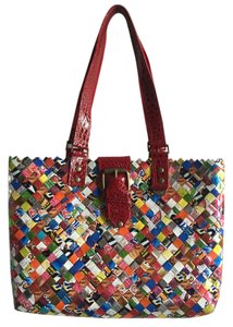 Nahui Ollin Recycled Tote in Multi
