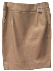 Jcrew Skirt Tan