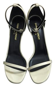 Saint Laurent Jane Nude Sandals