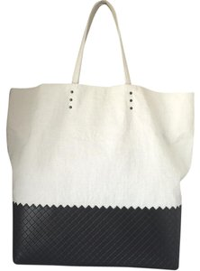Bottega Veneta Tote in Black & White