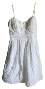 City Triangles short dress White on Tradesy