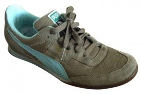Puma Olive/aqua Athletic