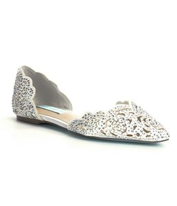 Betsey Johnson Elegent And Comfortable Wedding Shoes