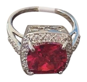 Other New Ruby Gem Sterling silver Ring
