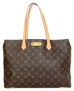 Louis Vuitton Monogram Coated Canvas Tote