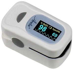Areta Fingertip Pulse Oximeter with Luxury Dual-color OLED Display