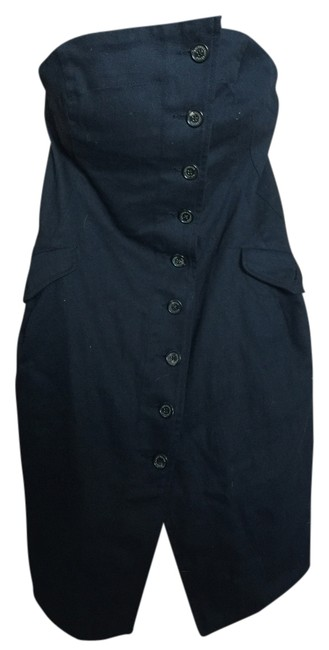 Trevor bolongaro All Saints short dress Dark navy/black Wiggle Pinup on Tradesy