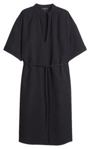 Aritzia Crepe V-neck Belted Dress