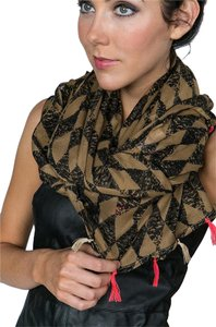 Numph Imagine Checkered Scarf