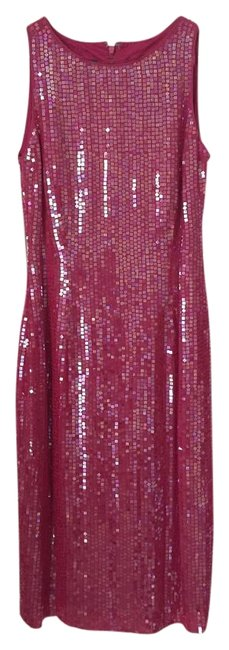 Preload https://img-static.tradesy.com/item/18296404/ralph-lauren-pink-mid-length-night-out-dress-size-8-m-0-3-650-650.jpg