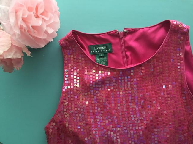 Ralph Lauren Sequins Bright Dress