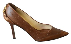Gucci Pointed Toe Brown Pumps