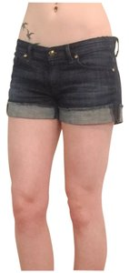 Rich & Skinny & Denim Cuffed Shorts Indigo