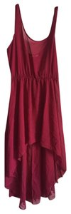Maroon Maxi Dress by Timing