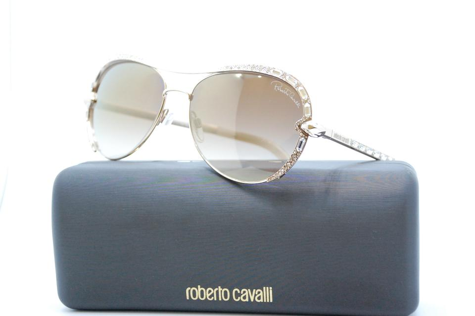 076cd9a719 Roberto Cavalli 28g Sulaphat 975s Gold Sunglasses - Tradesy
