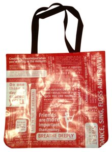 Lululemon Limited Edition Tote in Red & White
