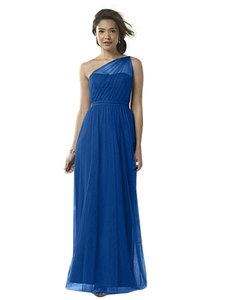 Alfred Angelo Navy Blue Style 8615l Modern Bridesmaid/Mob Dress Size 20 (Plus 1x)