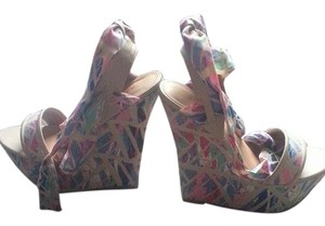 Bamboo multicolored Wedges