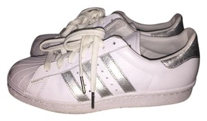 adidas Superstar White Silver white/silver Athletic