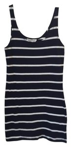 Forever 21 short dress Navy Blue and White on Tradesy