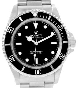 Rolex Rolex Submariner No Date Black Dial Automatic Mens Watch 14060