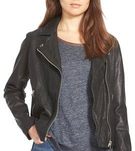 Madewell Moto Motorcycle Relaxed Leather Jacket